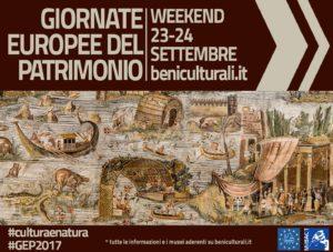 Giornate Europee del Patrimonio – GEP 2017