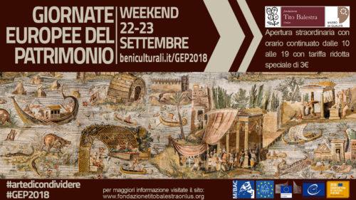 Le Giornate Europee del Patrimonio alla Fondazione Tito Balestra Onlus 2018