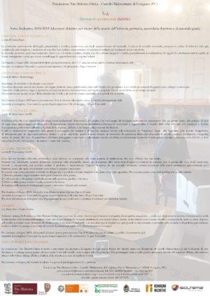 ╚sΔ – Laboratori Sperimentali Didattici alla Fondazione Tito Balestra Onlus