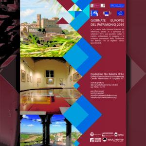 Giornate Europee del Patrimonio 21-22 Settembre 2019