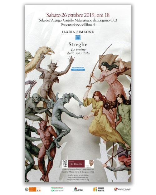 Ilaria Simeone presenta il suo libro Streghe, Le eroine dello scandalo