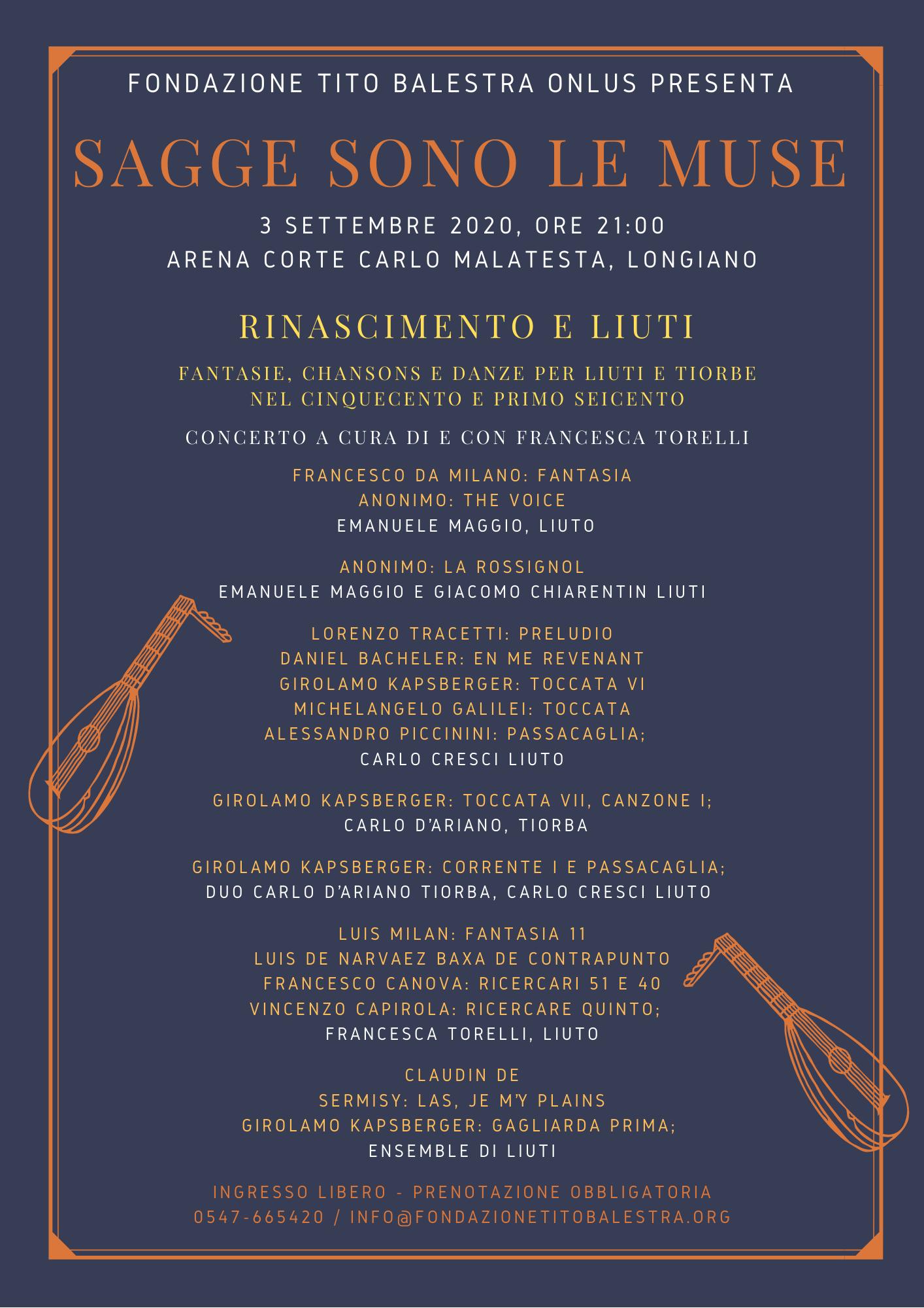 Concerto 3 settembre 2020