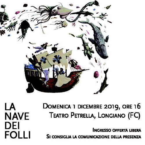 La nave dei folli – Concerto al Teatro Petrella di Matteo Ramon Arevalos